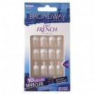 Broadway Nails Fast French Nail Kit Real Short # Bfd14