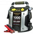 Stanley 500 Instant/ 1000 PEAK Amp Jump Starter with Compressor