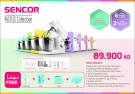 Sencor Food Processor + Free Hand Blender+Kettle+Toaster+Kitchen Scale