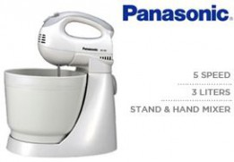 Panasonic 200W, 3Liters Electric Hand Mixer MK-GB1