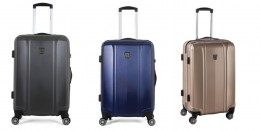 U.S. Polo Assn Hard Case Poly Travel Kit Bags