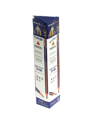 Pencil One 2HB Pencil Triangle Packet 57894600