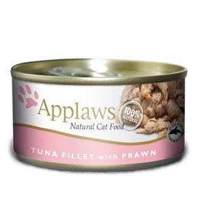 Applaws Cat Tin Tuna with Prawn 70g (24 pcs)