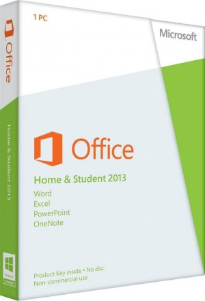 Office Home and Student 2013 32-bit/x64 English Middle East DM DVD