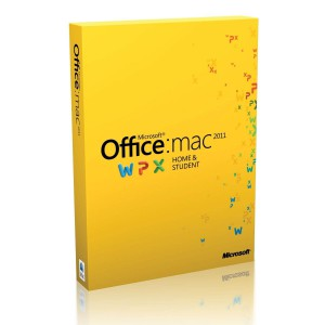 Office Mac Home Student 2011 English Middle East DM DVD
