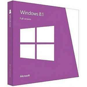 Microsoft® Windows 8.1 32/64-bit English International 1 License non-EU/EFTA DVD