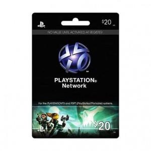 Playstation Network Card $20 (US)
