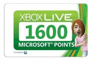 Xbox LIVE 1600 Microsoft Points