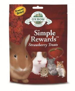 Oxbow Strawberry Treat Simple Rewards