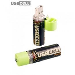 2 حزمة الخليوي - بطاريات AA USBCELL