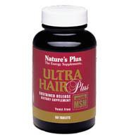 Nature's Plus Ultra Hair Plus (60 Tablets)