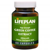 Life Plan Green Coffee Extract 60 Capsules