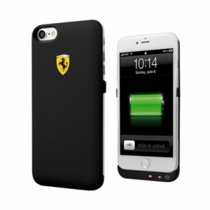 Ferrari Formula 1 Power Case 2800mAh For iPhone 6/6s iPhone 7 Black - FEFOPCP7BK