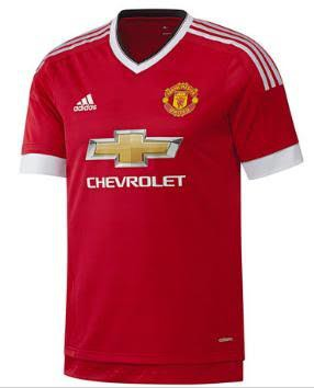 Manchester United Home Jersey 15-16