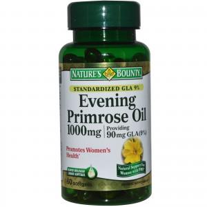 Nature's Bounty, Evening Primrose Oil, 1000 mg, 60 Softgels