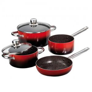 Stoneline 6pcs cookware set 18/20/24cm WX 12110