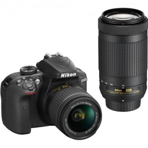Nikon D3400 24.2 MP Digital SLR Camera (Black) with AF-P DX NIKKOR 18-55mm f/3.5-5.6G VR Lens Kit