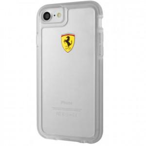 Ferrari Transparent PC/TPU Case Racing Shield - iPhone 7 (FEHCP7TR1)