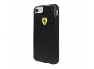 Ferrari Hardcase Case FEHCP7BK iPhone 7 black Racing Shield