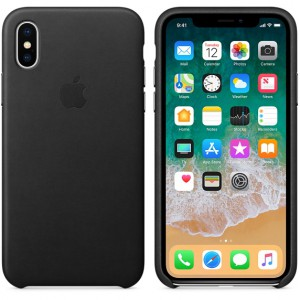 Apple iPhone X Leather Case Covers