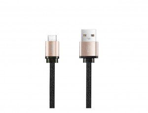 A&M Aluminum sync & charge MFI lightning cable 1.2 M