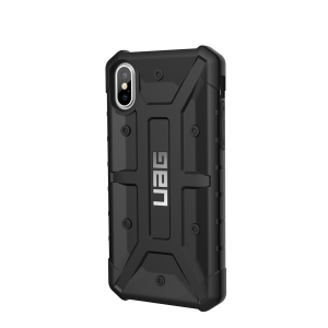UAG - iPhone x Pathfinder Case- Black/Silver Logo- Retail Package -Black
