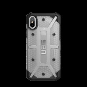 UAG - iPhone X Plasma Case- Ice/Black/Silver Logo- Retail Package ICE