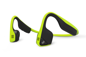 AfterShokz Trekz Titanium Open Ear Wireless Bone Conduction Headphones, Green