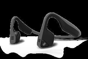 AfterShokz Trekz Titanium Open Ear Wireless Bone Conduction Headphones Grey
