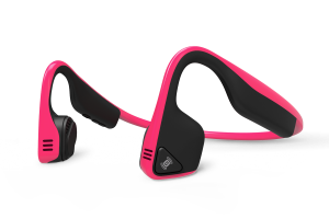 AfterShokz Trekz Titanium Open Ear Wireless Bone Conduction Headphones Pink