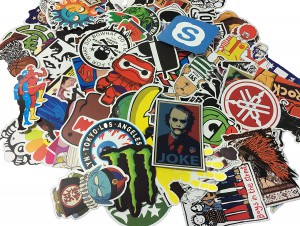 Fngeen Random Sticker 200 pcs Variety Vinyl Car Sticker Motorcycle Bicycle Luggage Decal Graffiti Patches Skateboard Stickers for Laptop Stickers (200pcs)