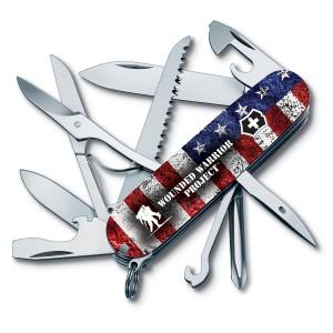 Victorinox Swiss Army Fieldmaster Pocket Knife - Color:US Flag/WWPa