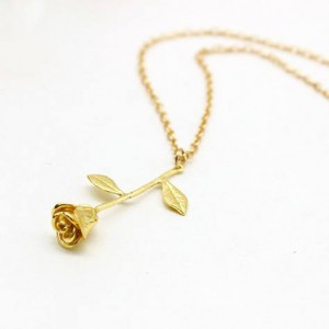 Mighzal Rose Necklace