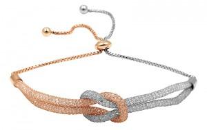 Mighzal Tied & Tangled Zircon Bracelet, Multi Color - MA-BR09