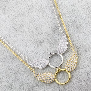 Mighzal Angel Wings Necklace