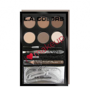 L.A.Colors - Brow Pallete - Light To Medium