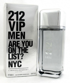 Carolina Herrera 212 VIP Men EDT Spray 200 ml