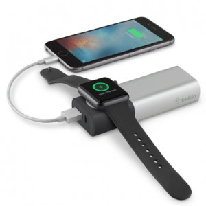 Belkin Valet Charger Power Pack 6700mAh for Apple Watch (built-in Magnetic Charging Module) and iPhones