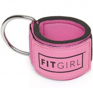 FITGIRL - Fitness Padded Ankle Strap - Pink