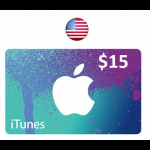 Apple iTunes Gift Card $15