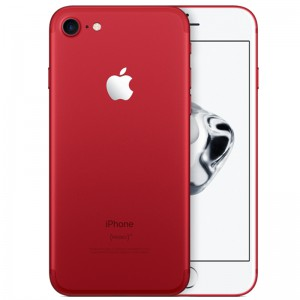 "Apple iPhone 7 128GB Special Edition, 4.7"" Retina HD Display, LTE - Red"