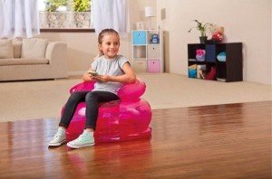 "Intex Jr. Fun Chair 48509NP ""26In X 16.5""  (Multicolor) 48509"