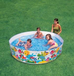 Intex Snap-set Coral Reef Pool 58472 -8 FT