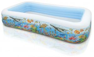 INTEX 58485 Inflatable Pool 305 x 183 x 56 cm