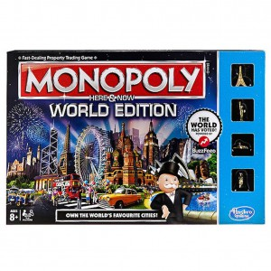 Monopoly Here and Now World Edition Game