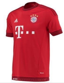 FC Bayern Home Jersey 15-16