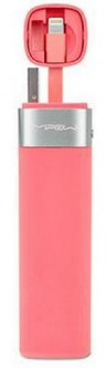 Mipow MFI - Smart Power tube 3000 - with lightning connector + JuiceSync App V2 (Pink)