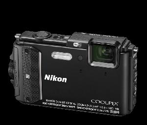 Nikon COOLPIX Camera AW130 (Black)