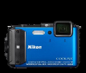 Nikon COOLPIX Camera AW130 (Blue)