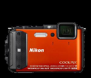 Nikon COOLPIX Camera AW130 (Orange)